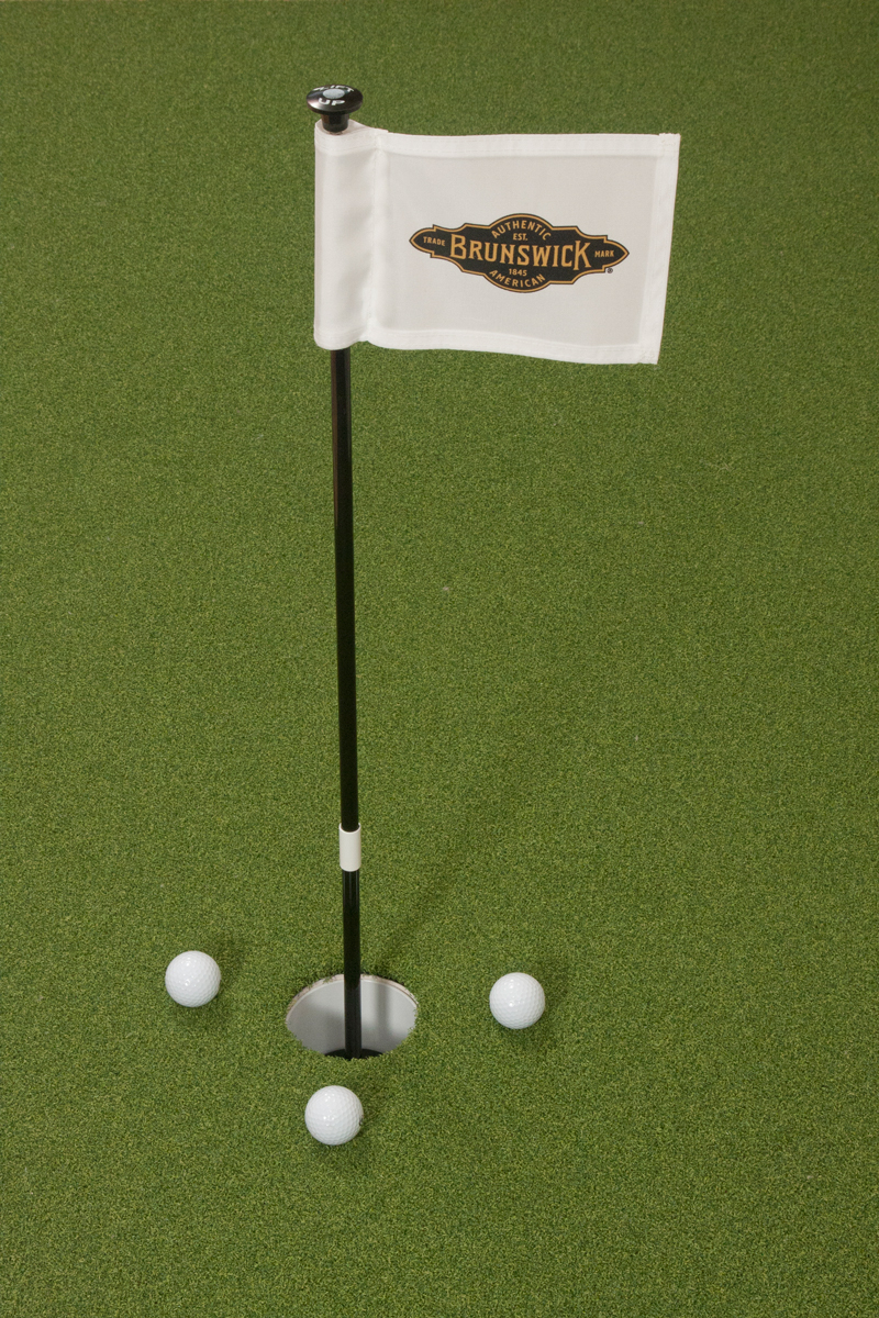 Practice Putting Green Cups and Flags