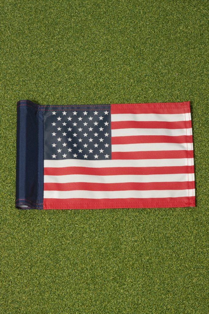 golf hole flags